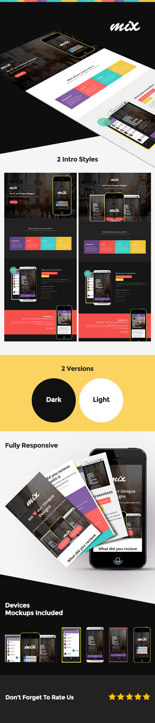 Responsive Bootstrap App Landing Page - 2